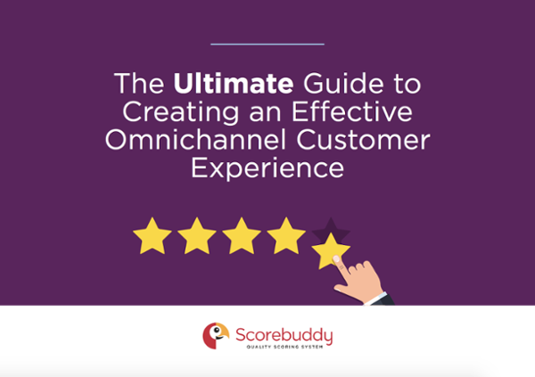 The Ultimate Guide to Creating an Effective Omnichannel Experience - eBook Cover