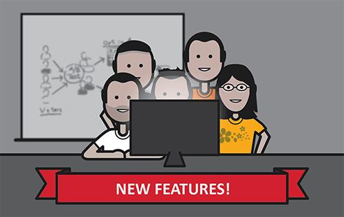 New Features Update (Oct, 2017)