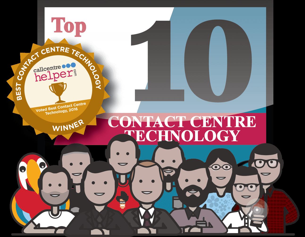 "Scorebuddy voted ""Best Contact Centre Technology"""