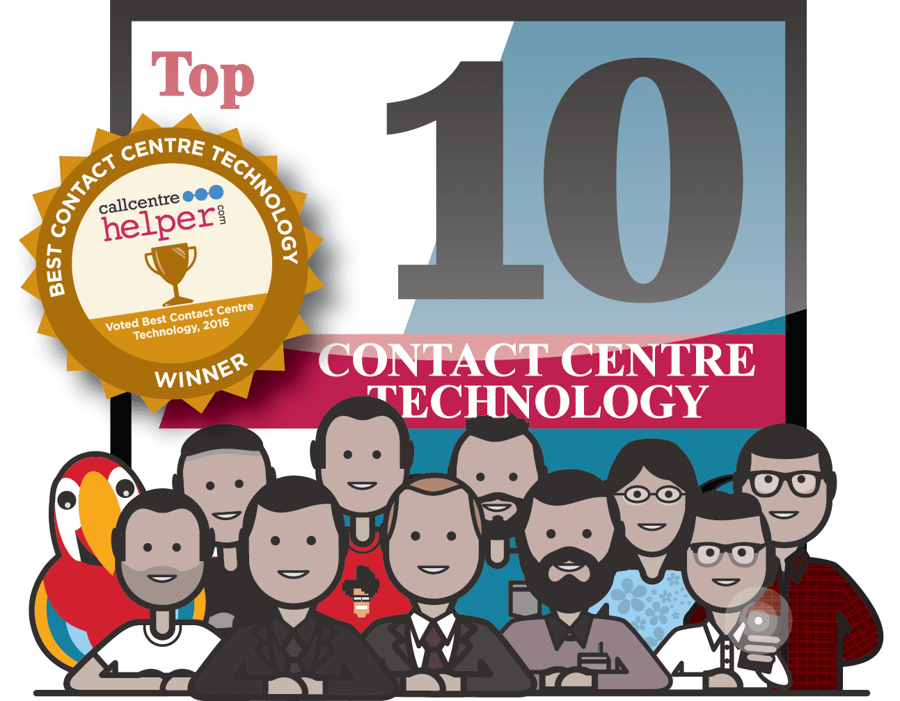 "Scorebuddy voted ""Best Contact Centre Technology"""