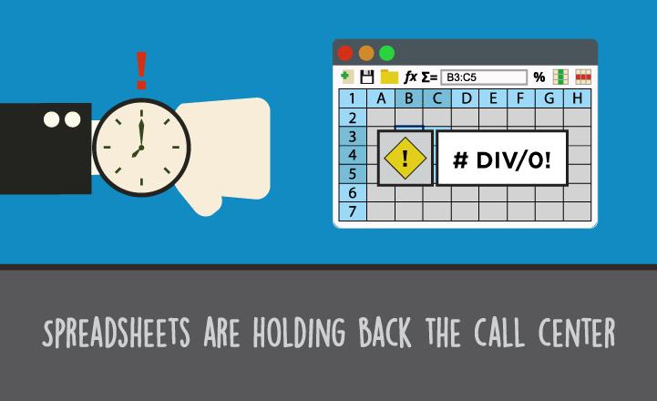 Are Spreadsheets Burning Call Center QAProductivity?