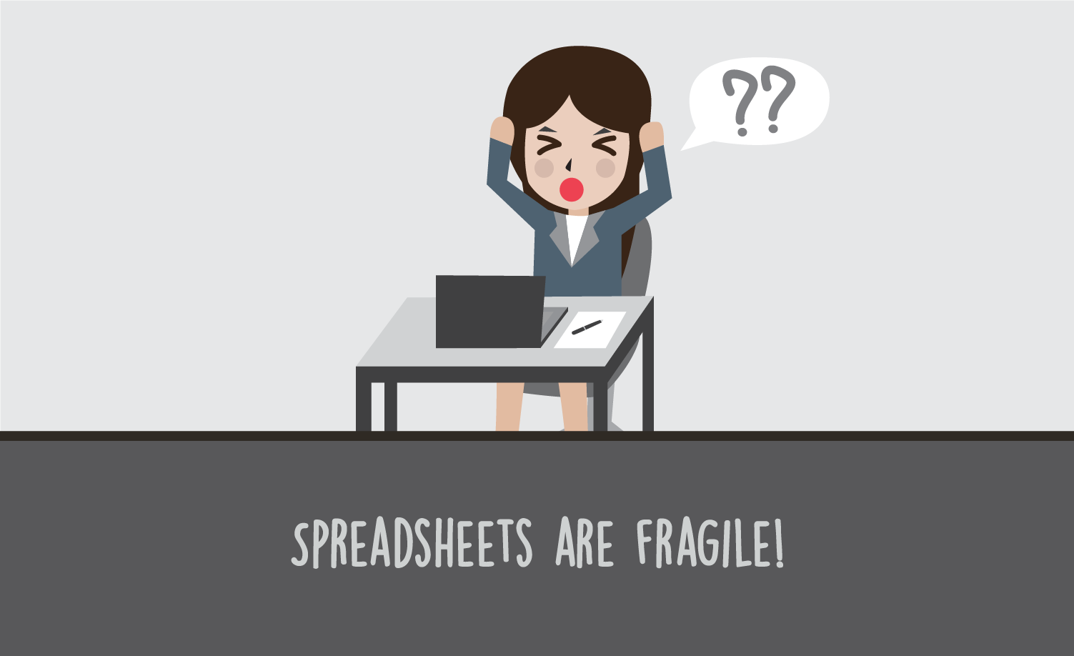 Why Spreadsheets are not a QA Tool