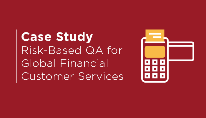 Financial Service Case Study